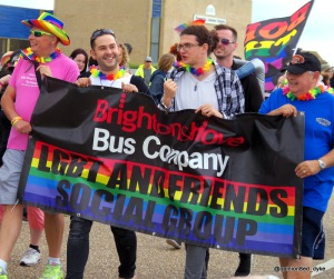 Brighton and Hove Bus Company LGBT - at Eastbourne Pride