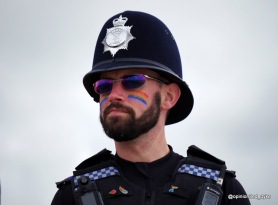 Police at Pride - Sussex Police Officer - 0528
