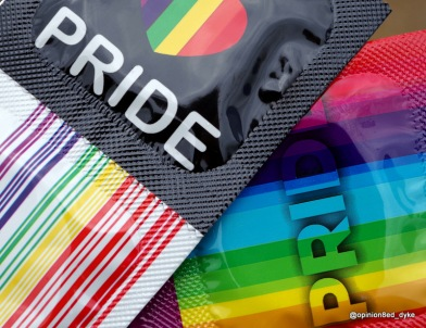 pride condoms - safer sex